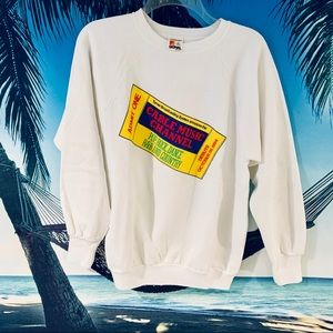 Vintage 80s Cable Music Channel Sweatshirt